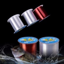 500m Mono Fishing Line Nylon Monofilament Fishing Line 0.8-1.5#
