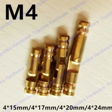 4pcs size 4x15mm/4x17mm/4x19mm/4x25mm Pure Copper Brass Wine Jewelry Box Hidden Invisible Concealed Barrel Hinge