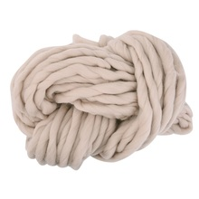 Home Warm Super Soft Wool Thick Natural Merino Wool Chunky Yarn Roving Yarn Spinning Hand Knitting Cotton Wools(China)