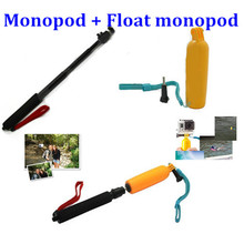 Buy Float Bobber Grip Gopro Hero 5 4 Sj4000 Floating Handle Monope Extendable Selfie Stick Monopod Xiaomi Yi 4K Accessories for $9.27 in AliExpress store
