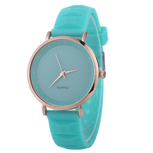 Women Watches Charm Girls Fashion Multicolor Quartz Watch Montre Silicone Band Vitality Clock Wholesale Reloj Mujer(China)