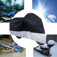 All Weather Protection Waterproof UV Dust Storage Motorbike Cover For Honda Goldwing Cruiser Touring Harley Ultra Sportbikes