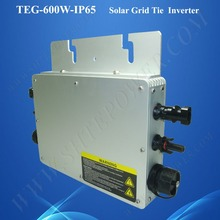 NEW product 22-50VDC to 180-260VAC waterproof  24v 600w solar panel micro inverter grid tie for home use 600w