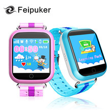 GPS smart watch Q750 Q100 baby watch with Wifi 1.54inch touch screen SOSCall Location Device Tracker for Kid Safe PK Q50 Q60 Q80(China)