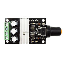 DC 6V 12V 24V 28VDC 3A 80W PWM Motor Speed Controller Regulator Adjustable Variable Speed Control With Potentiometer Switch