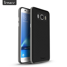 Case For Samsung J5 2016, IPAKY Shock Absorption 2 In 1 TPU+ PC Rugged Armor SGP Case Cover For Samsung Galaxy J510/J5 2016