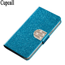 Bling Rhinestone PU Leather Case For Sony Xperia X Performance XP Cover Original Flip Stand Wallet Phone Coque Card Slot(China)