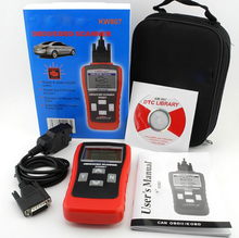 2017 NEW Auto Accessories Computer Kw807 Obd2 Obdii Scanner Car Vehicle(China)