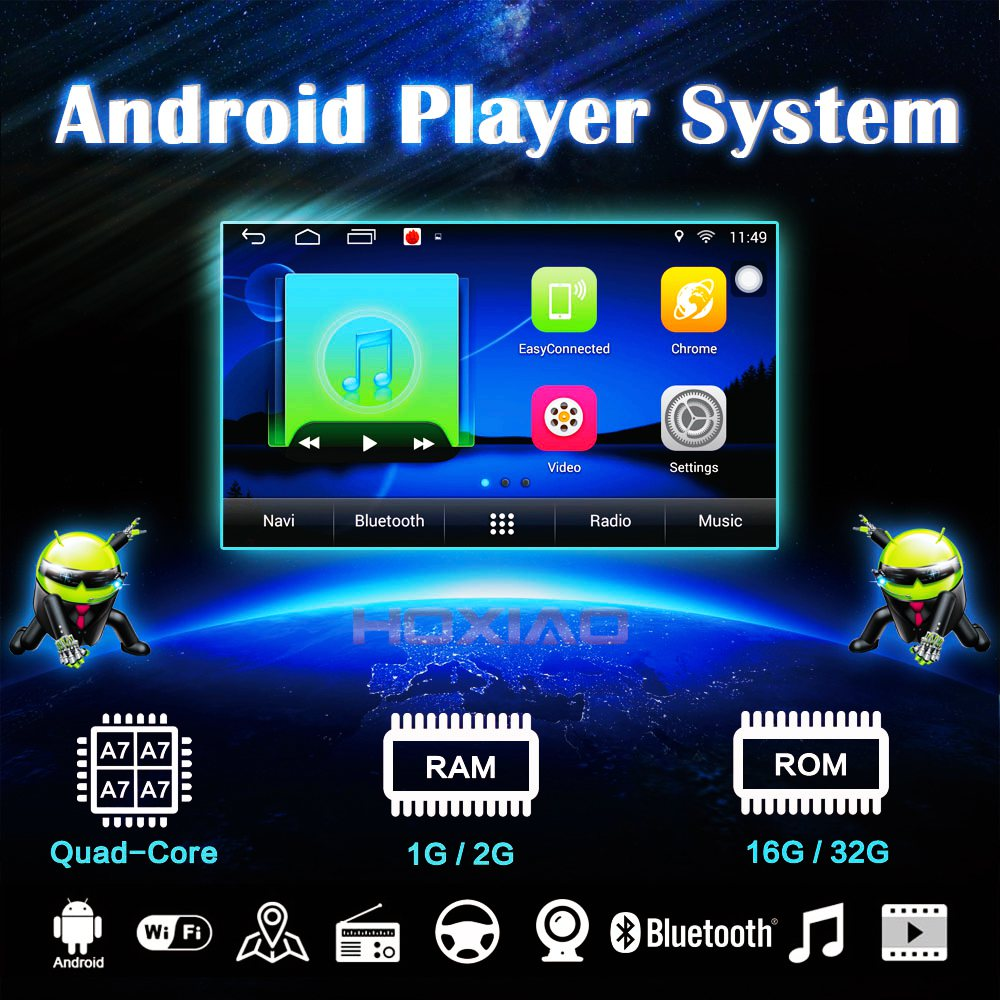 Android Univeral Car Multimedia