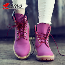 Martin boots female hiking boots, white boots in cylinder motorcycle boots lovers shoes now(China)