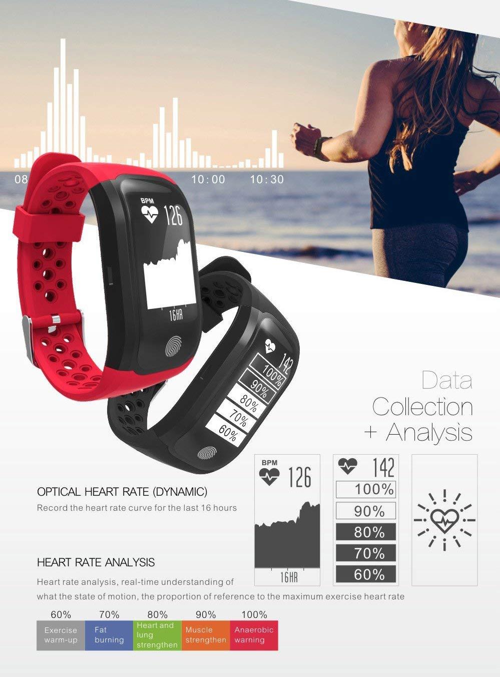 Smartwatch GPS IP68 Waterproof Wristband (15)