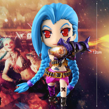 Hot 15cm LOL Figure Lolita Jinx Lux Statue Doll PVC Lolita Collection Action Figure Garage Kit Toy Cute Anime Toys Gifts WX010