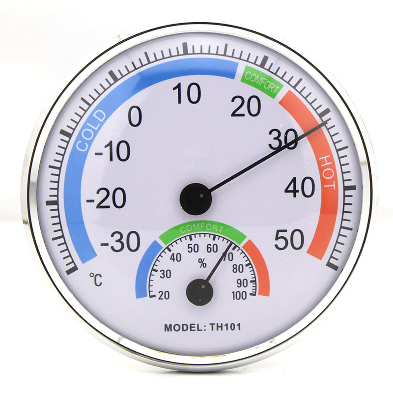 New Indoor Outdoor Thermometer Temperature Garden Hygrometer Comfortable Tester Weather Meter TH101<br><br>Aliexpress