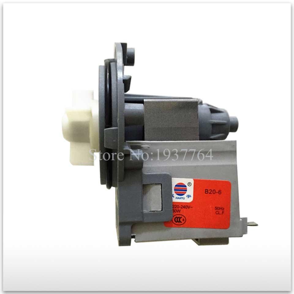 95% new for washing machine Original parts B20-6 220v-240v~ 30w drain pump motor good working<br>