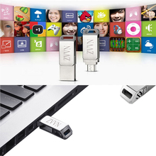 Pendrive Rotate OTG Waterproof Mini Metal Micro USB Flash Drive 64G 32G 8GB 16G USB Flash Memory Stick/thumb/pen flash usb 128gb