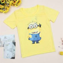 Hot New 2017 cartoon t shirts anime figure popular clothes, costume children's clothing children T- shirts(China)