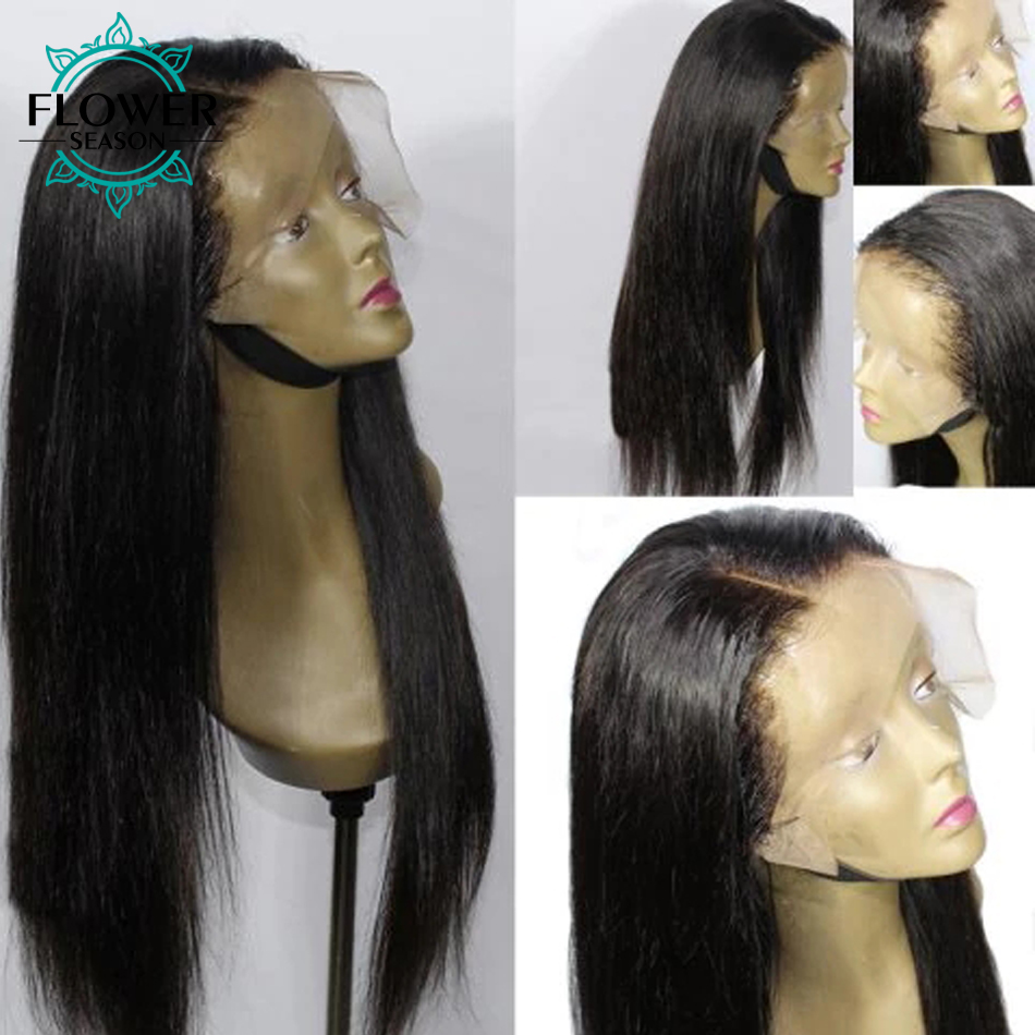 straight lace front wig 3