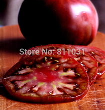 "New Rare 25pcs Tomato Seeds Heirloom Vegetable Seeds - ""RUSSIAN BLACK KRIM"" DARK & DELICIOUS!!(China)"