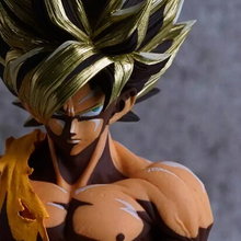 NEW hot 32cm Dragon ball Super saiyan Son Goku Kakarotto Cartoon style action figure toys collection Christmas gift doll no box