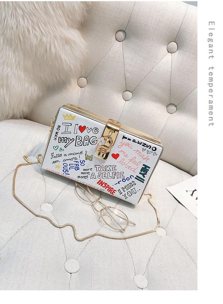 Gepäck & Taschen 2019 Explosion Mode Damen Leder Haspe Einfarbig Persönlichkeit Schulter Handtasche Messenger Tasche Temperament Bolsos Mujer #7