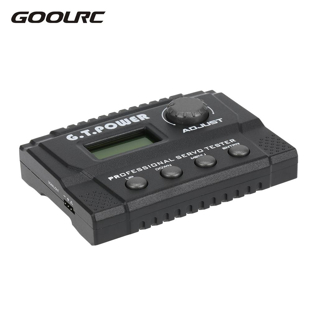 High Quality Professional Servo Tester for RC Aircraft Helicopter Drone Car Servo RC Model Toys Tester RC Tool<br>