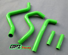 GPI silicone radiator hose FOR KAWASAKI KX250 KX 250 99 00 01 02 1999 2000 2001 2002(China)