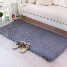 50*100CM Soft Big Carpets for Bedroom strip Bedside/strip/non-slip White/brown/green/pink/gray