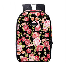 2017 Flower Popular High Quality School Bag For Girls Discount Backpack New Style On Hot Sales(China)