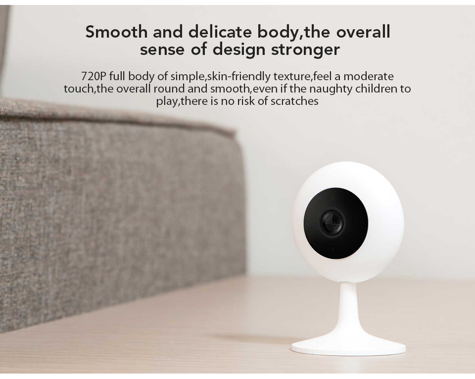 Xiaomi Mijia Xiaobai Smart Camera Popular Version 720P HD Wireless Wifi Infrared Night Vision 100.4 Degree IP Home Cam CCTV (7)