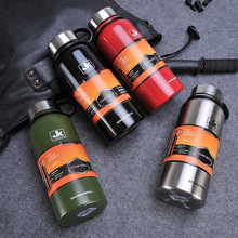 Large Capacity Space Stainless Steel Double Wall Vacuum Flask Coffee Mug Travel Tumbler Water Bottle Insulated Thermos Car Cup