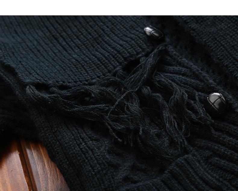 Winter Men Cardigan Coat Thicken Loose Fit Warm Turtleneck Sweater Men Autumn Knited Male Sweatercoat Black Brand Muls M-4XL-10