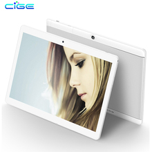 CIGE 10.1 Inch Phone Call Android Octa Core Tablet pc Android 7.0 4GB 64GB WiFi 4G External FM Bluetooth 4G+64G Tablets Pc 5Mp(China)