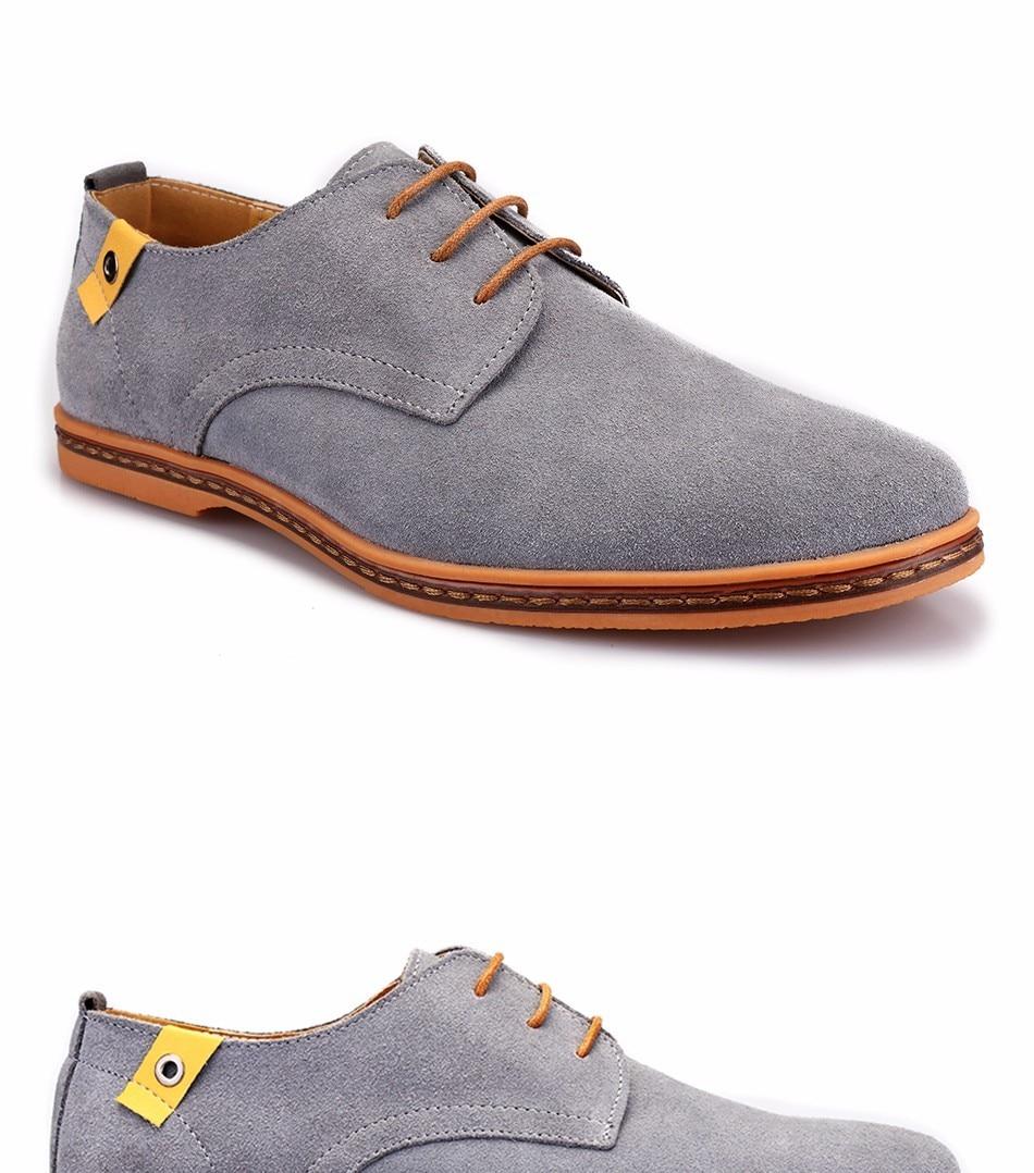 Classic Men Flats Gentleman Oxford Genuine Leather Dress Shoes Men Flat Shoes Luxury Casual Shoes Size 39-47 9