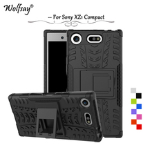 Buy Wolfsay Cover Sony Xperia XZ1 Compact Case Tough Impact Armor Rubber Anti-knock Funda Phone Case Sony Xperia XZ1 Compact for $3.39 in AliExpress store