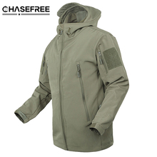 Brand Jacket V5.0 Military Tactical Men Jacket Lurker Shark Skin Soft Shell Waterproof Windproof Men windbreaker Jacket Coat(China)
