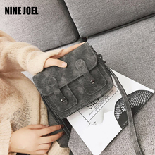 New Women Messenger Bag Satchel Bag With Double Belt Fashion Women Girl Handbag Cube PU Leather Luxury Handbags Women Bags(China)