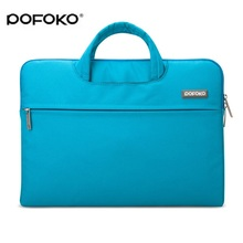 POFOKO Brand New 13 Sleeve Notebook Carry Case Cover Bag For Macbook Pro Retina Touch bar 13.3 15 Air 11.6 15.4 laptop 12 inch