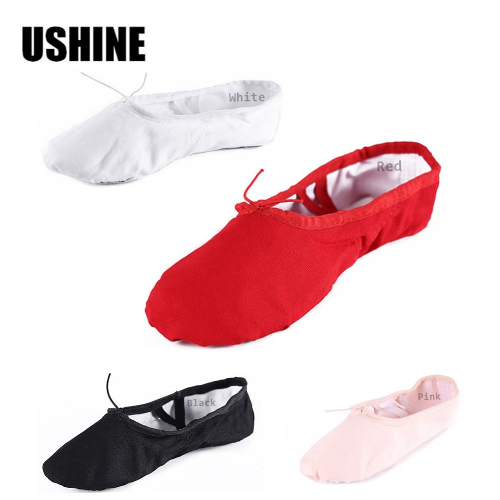 According CM Buy,Canvas Ballet Shoes Ribbon Pointe Women & Children's  -  LangZhiChen Trading store
