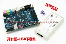 Free shipping Xilinx FPGA development board Spartan6 XC6SLX16 DDR2(China)