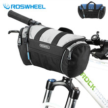 ROSWHEEL 4L Bicycle Tube Bag Trunk Handlebar Pack Bike Baskets Cycle Cycling Front Frame Pannier Reflective Bag 2 Colours(China)
