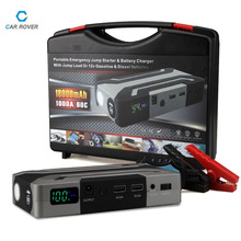 1000A Peak Current Car Jump Starter for Petrol 8.0L Diesel 6.0L High Power Car Battery Charger Emergency Auto Power Bank Booster(China)