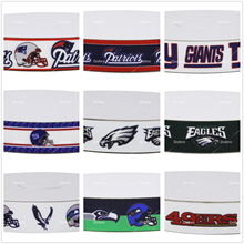 Dobro 15 Choices Top Sport Team American Football Game Printed Grosgrain Ribbons for Hair DIY Craft Party Decoration(China)