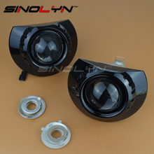 For BMW E46 Light ZKW M3 Wagon/ Sedan/ Coupe Headlight Mini 2.5 MH1 Black HID Bi xenon Lens Projector Tuning Headlamp H7 DIY