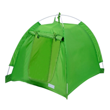 Portable Outdoor Camping Dog House Pet Sun Shelter House Tent waterproof Green(China)