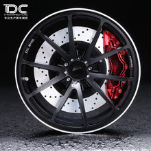 DC FOR 1/10 RC DRIFT CAR ALLOY WHEEL HUB +6 offset  G25 TYPE - 4PCS/SET 90188