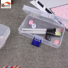 CUSHAWFAMILY Plastic Storage Box For Rings Jewelry household small accessories Organizer Makeup Case Craft Container porta joias(China)