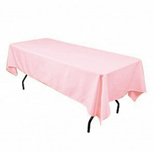 145x304cm Satin fabric Table Cloth rectangular Tablecloth Table Covers Hotel for wedding restaurant banqueting black purple pink(China)
