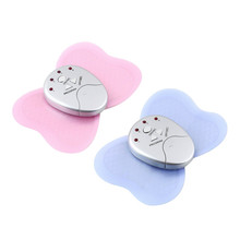 50pc electric body massager Mini Slimming Butterfly Body Muscle Massager Slim Relax Slimming Massager DHL/EMS freeshiipping