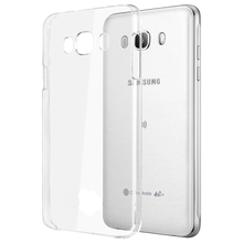 For Samsung Galaxy A3 A5 A7 2015 J1 Nxt Mini J5 J7 Prime 2016 A510 Crystal Transparent Hard Plastic PC Clean Phone Case Cover