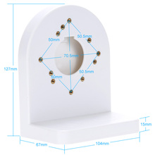 Plastic Wall Mount Bracket Ceiling Stand for for CCTV camera, Dome camera and IP camera(China)